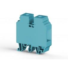 304171, Клеммник на DIN-рейку 35мм.кв. (Синий); AVK35 (упак 50 шт)