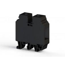 304175, Клеммник на DIN-рейку 35мм.кв. (Черный); AVK35 (упак 50 шт)