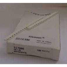 517009, Маркировка кабеля KE1  (0,75...1,5 мм.кв.) '9' (упак 500 шт)