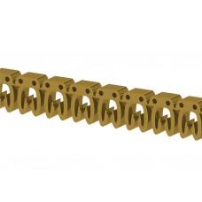 517014, Маркировка кабеля KE1  (0,75...1,5 мм.кв.) 'E' (упак 200 шт)
