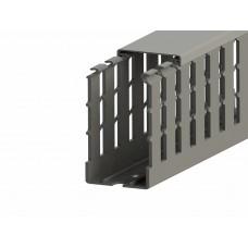 551014WS, KKC 4060; Перфорированный короб с крышкой, 40x60 (ШхВ) Широкий шаг перфорации (упак 36 м)