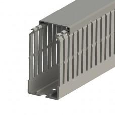 551015, KKC 4080; Перфорированный короб с крышкой, 40x80 (ШхВ) (упак 40 м)