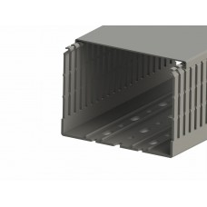 551023WS, KKC 1206; Перфорированный короб с крышкой; 120x60 (ШхВ). Широкий шаг перфорации (упак 16м. )