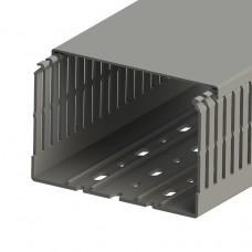 551024, KKC 1208; Перфорированный короб с крышкой; 120х80 (ШхВ). (упак 12м. )