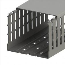 551025WS, KKC 1201; Перфорированный короб с крышкой; 120x100 (ШхВ). Широкий шаг перфорации (упак 20м. )