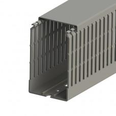 551033, KKC 6010; Перфорированный короб с крышкой; 60x100 (ШхВ) Серый (упак 36м. )