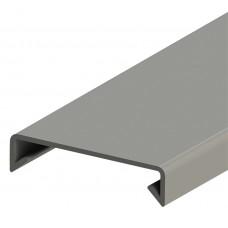 551051, KKK 40; Крышка для к/канала шир. 40 мм, длина 2 м; (упак 20м. )