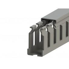551070YP, KKC 1530; Перфорированный короб с крышкой; 15x30 (Серый) Склеивающийся канал (упак 208м. )