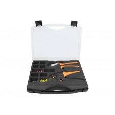 562128, Набор инструментов для зачистки проводов и обжимки наконечников STRIPPER 16+CRIMPER 16 H N (упак 1 шт)