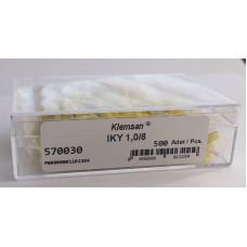 570030, Наконечник изолированный IKY 1,0-8 (огнестойкий) (упак 500 шт)