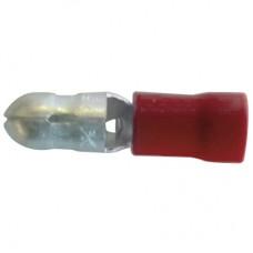 598010, Наконечн. изол. 0,5-1,5 мм.кв., штепсельный штифтовой, диам.4 мм; KMT-1040 (упак 100 шт)