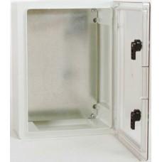690030, Пластиковый корпус (шкаф) с прозрачной дверцей KPT 1824 IP65 Halogen Free (упак 1 шт)