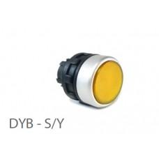 800403, DYB - S-Y; Кнопка  управления -  без фиксации (упак 1 шт)
