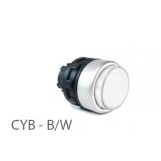 800410, CYB - B-W; Кнопка управления -выступающая - без фиксации (упак 1 шт)