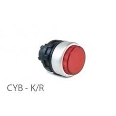 800411, CYB - K-R; Кнопка управления -выступающая - без фиксации (упак 1 шт)