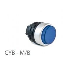 800412, CYB - M-B; Кнопка управления -выступающая - без фиксации (упак 1 шт)