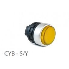 800414, CYB - Y-G; Кнопка управления -выступающая - без фиксации (упак 1 шт)